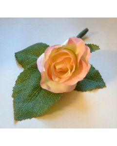 Artificial Vintage Rose Buttonhole