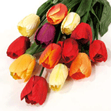 Artificial Tulips